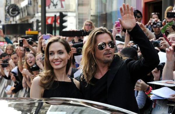 World War Z premiere: Brad Pitt,