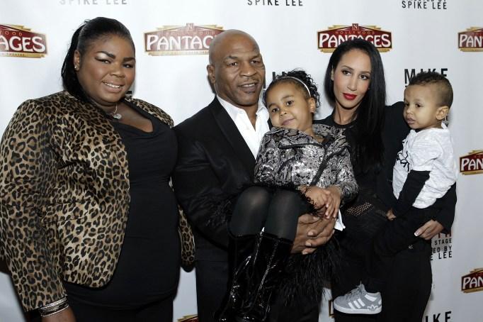 Mike Tyson's kids