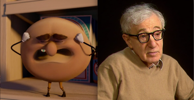 Sausage Party and Woody Allen