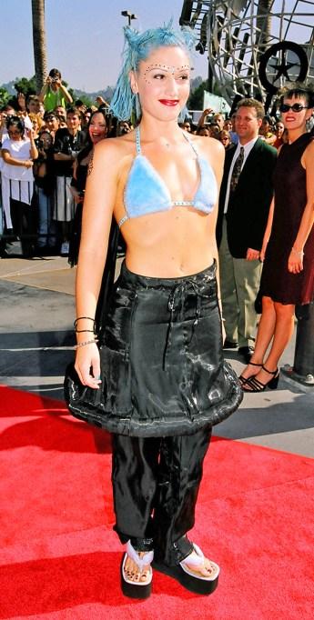 Gwen Stefani 1998 MTV Video Music Awards
