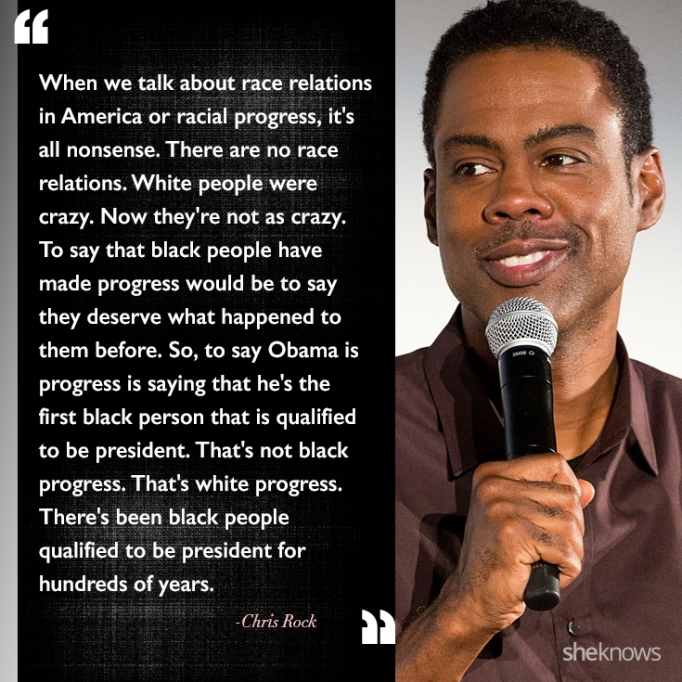 Chris Rock race quote