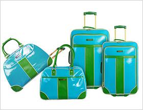 Travel in style: Colorful luggage we're