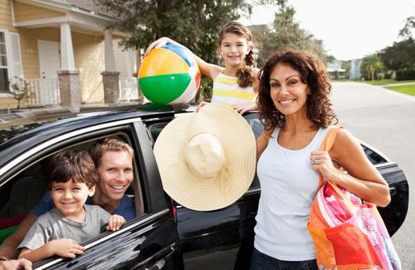 How to survive a family road