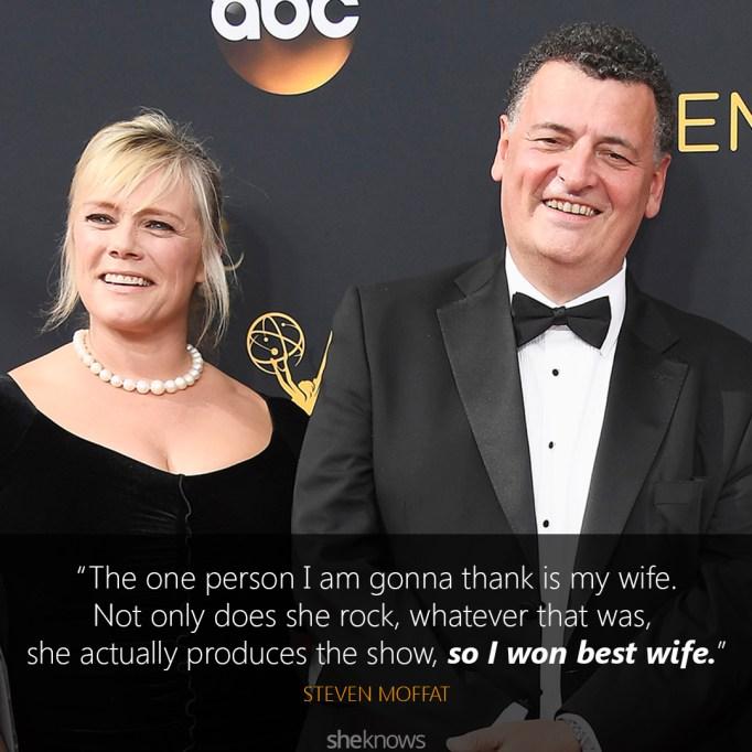 Steven Moffat Emmys speech