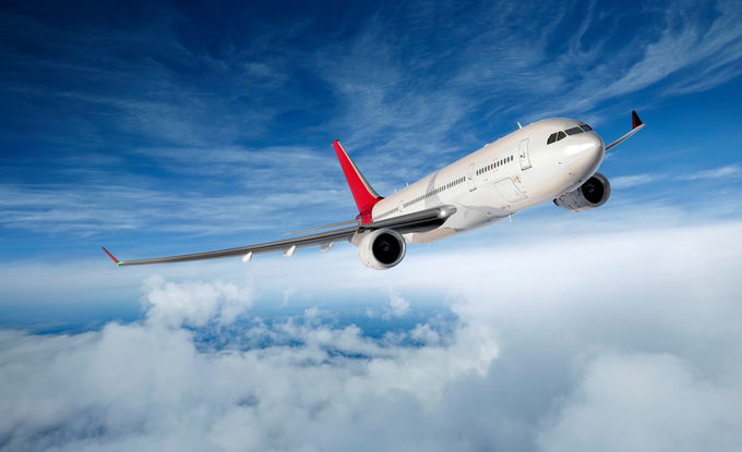 Air Vehicle, Commercial Airplane, Flying, Clouds