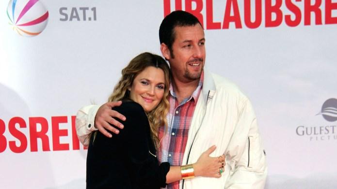 Drew Barrymore & Adam Sandler Have