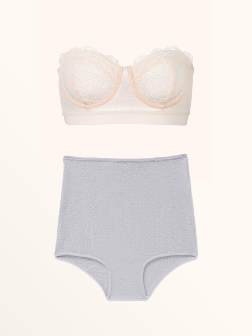 Best Lingerie to Wear With Every Summer Outfit | The Lace Strapless & Hesperios Margot