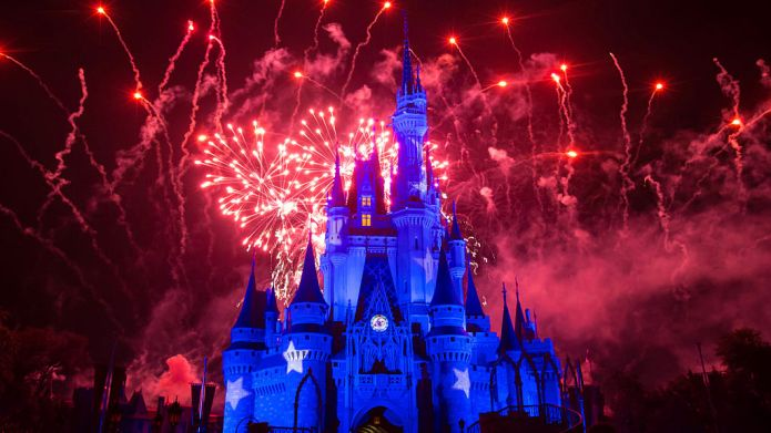 ORLANDO, US - JANUARY 20: Fireworks