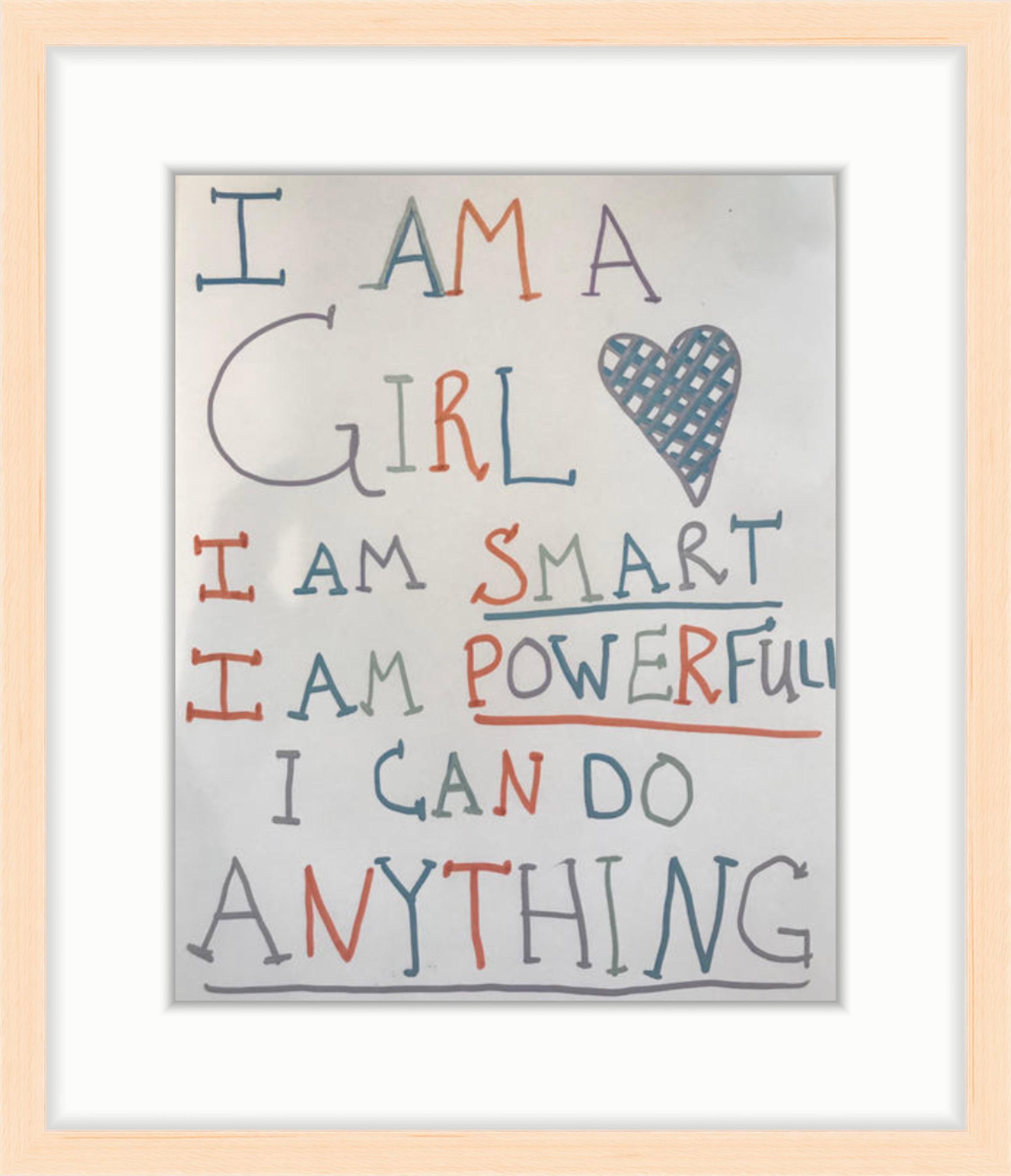Framebridge Women's March framed poster