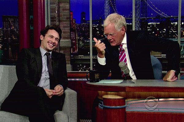 James Franco on David Letterman