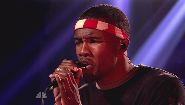 Frank Ocean pulled over for speeding, weed, and loses his license.