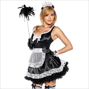 French Maid Costume from Frederick's of Hollywood