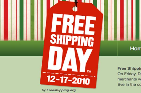 Free Shipping Day is Dec. 17