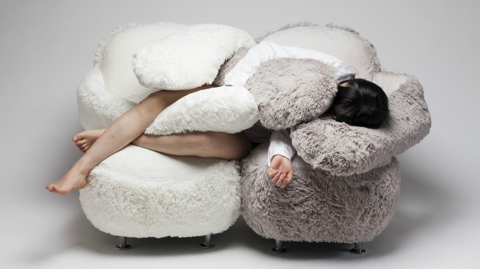 Giant cuddling sofa will hold you