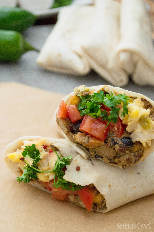 Easy homemade freezer breakfast burritos recipe