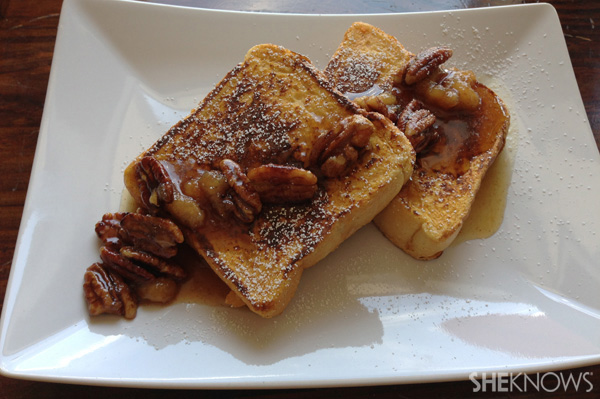 Sweet potato french toast