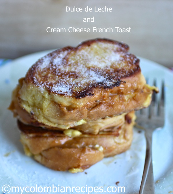 dulce de leche french toast