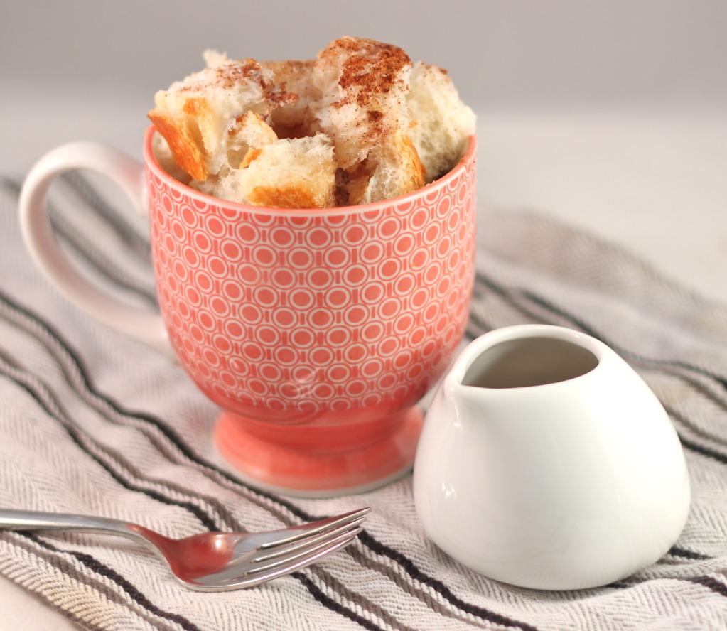 microwave mug french toast