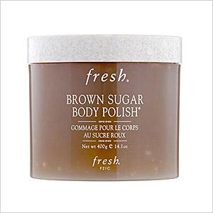 fresh brown sugar body scrub