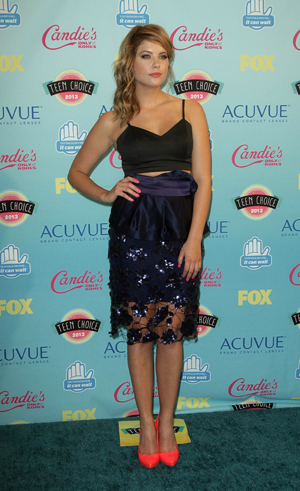 Ashley Benson at the Teen Choice Awards