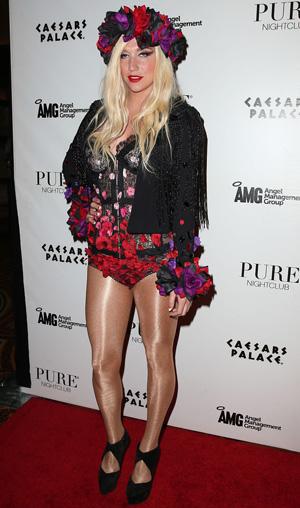Ke$ha at Pure nightclub