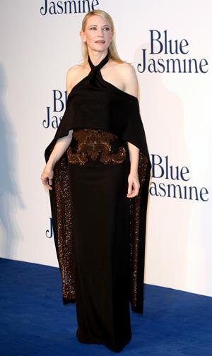 Cate Blanchett at the UK premiere of Blue Velvet