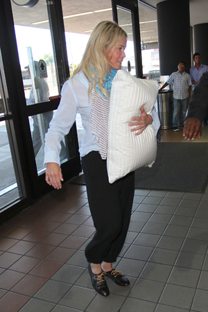Chelsea Handler at LAX