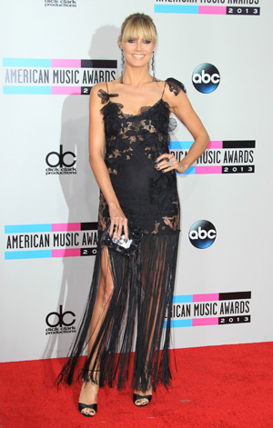 Heidi Klum at the 2013 AMAs