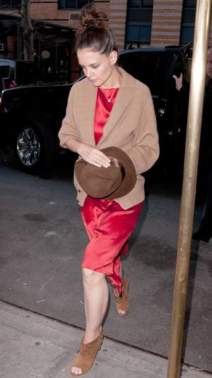 Katie Holmes fashion mistake