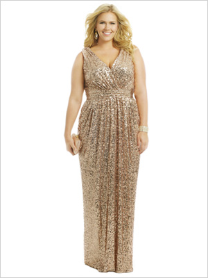 Shop the look: Rent the Runway Badgley Mischka Rolling in the Glitz Gown (rent for $160, full retail $650)