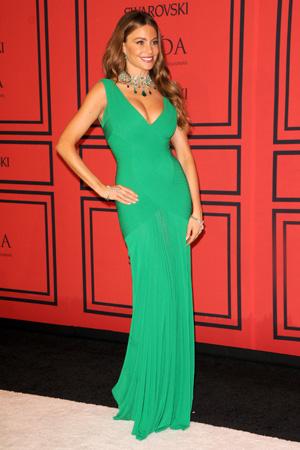 Sofia Vergara at the the2013 CFDA Fashion Awards