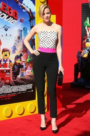Elizabeth Banks at the Lego premiere