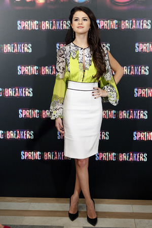 Selena Gomez at the Spring Breakers premiere