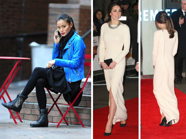 Friday's Fashion Obsessions: Jamie Chung and Kate Middleton