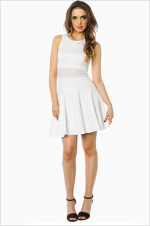 Shop the look: Sosie Turley Dress in White (shopsosie.com, $39)