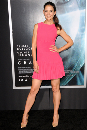 Katie Holmes at New York premiere of Gravity