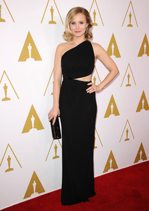 Kristen Bell at the Academy of Motion Picture Arts and Sciences' Scientific and Technical Awards