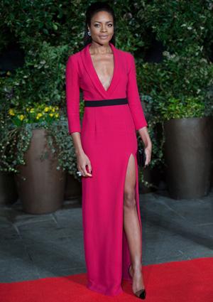 Naomie Harris at the British Academy Film Awards