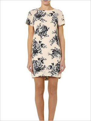 Shop the look: Dorothy Perkins Blush Rose Shift Dress (us.dorothyperkins.com, $39)
