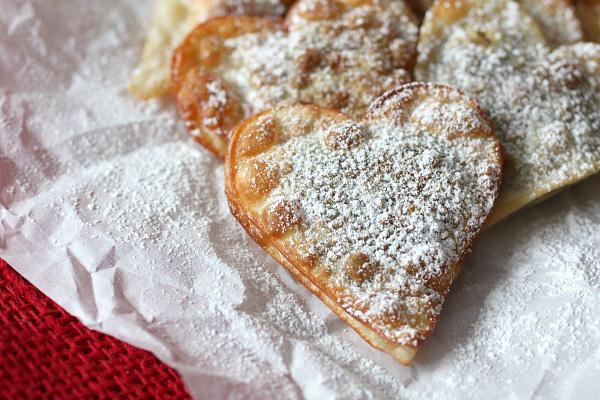 Fried nutella ravioli
