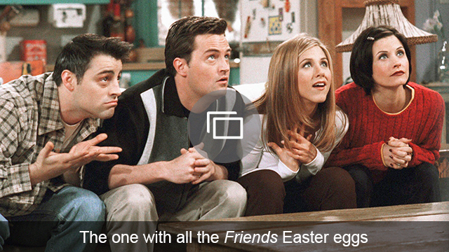 Friends Easter eggs slideshow