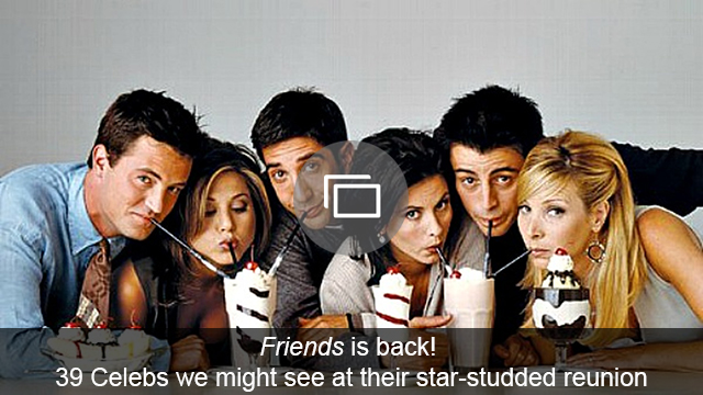 Friends reunion slideshow