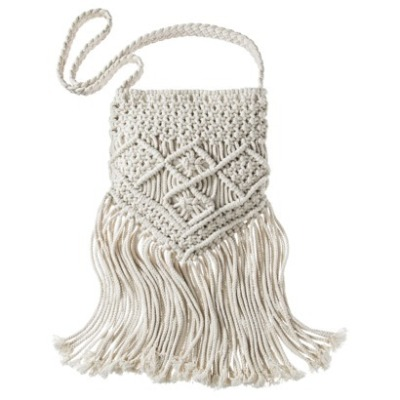 The fashionable fringe tote from target