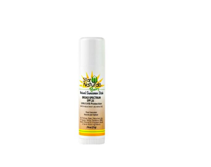 Star Naturals sunscreen