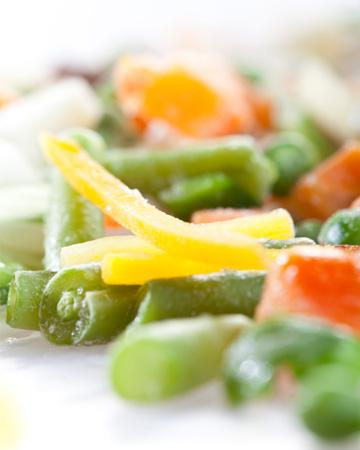 Frozen vegetable blend