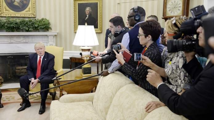Donald Trump Continues War With Media,