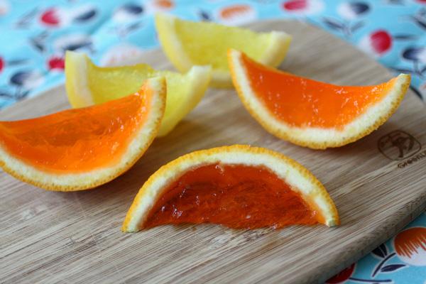 Fruit Bowl Jello Shots