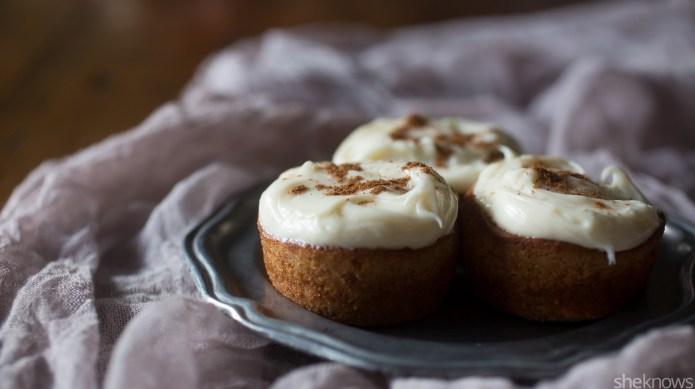Pumpkin spice latte cupcakes, so you