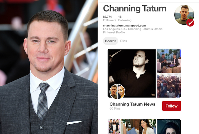 Celebs on Pinterest: Channing Tatum
