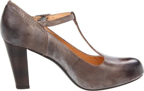 Frye heels, Miranda T-strap